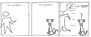 Problems do not exist