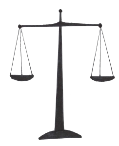 In the Balaced Team paradigm - The Product owner represents the scales of justice